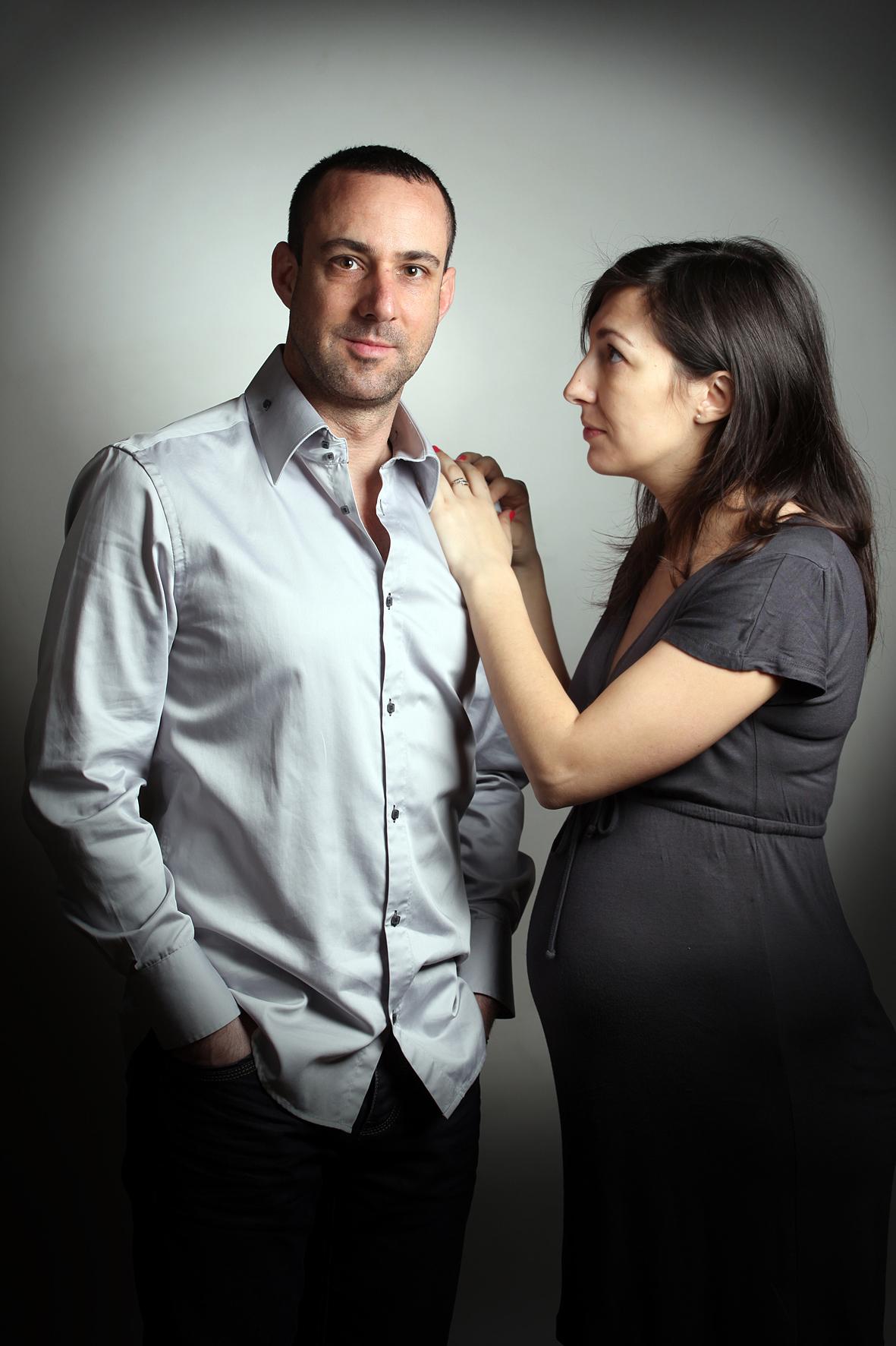 séance-photos, grossesse, portrait