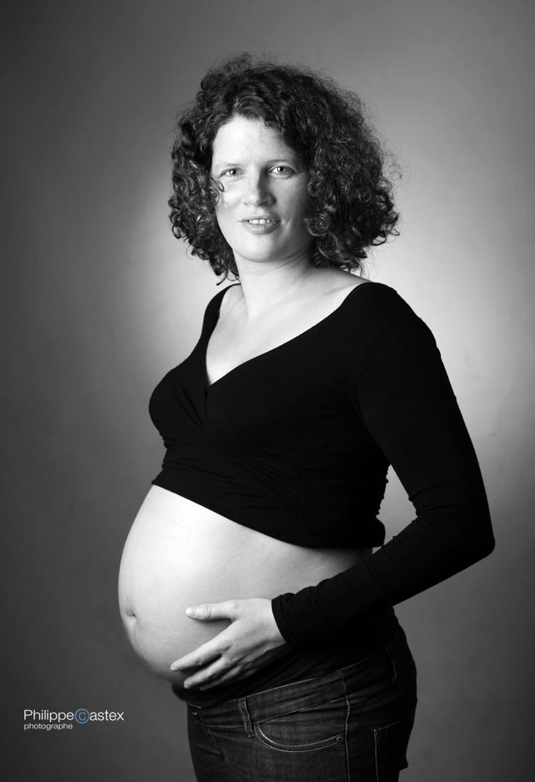 grossesse, photos, portrait, studio