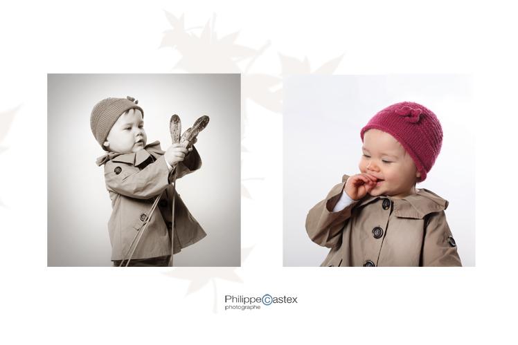 portrait, portrait d'enfant, photographier, studio